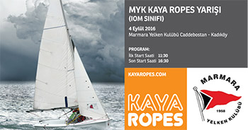 KAYA ROPES'TAN IOM SINIFINA DESTEK